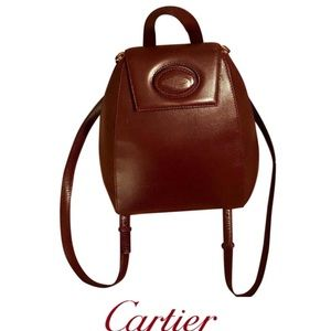 Cartier Leather Backpack 🎒